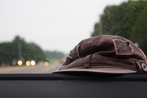 Have hat will travel.