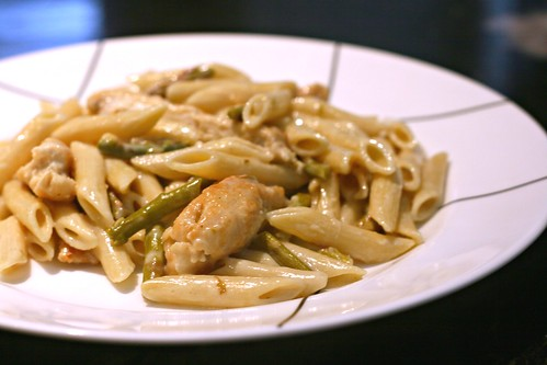 Lemon Chicken and Artichoke Pasta