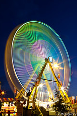 Ferris Wheel 1~ (gtsomething) Tags: longexposure carnival light canada edmonton fair alberta ferriswheel funfair klondikedays townfair capitalex gtsomething