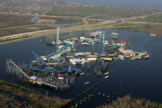 New-Orleans-LA-Sept.-14-2005-Six-Flags-Over-Louisiana-remains-submerged-two-weeks-after-Hurricane-Katrina-caused-levees-to-fail-in-New-Orleans