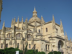 catedral de segovia (danielnanreik) Tags: world sleeping white mountain black color tree castle beauty river spain catholic south muslim disney seville andalucia spanish segovia alhambra granada alcazar moor fortress medievial