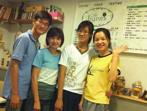 社長Jeff/社長夫人Lynn/安妮/Wendy
