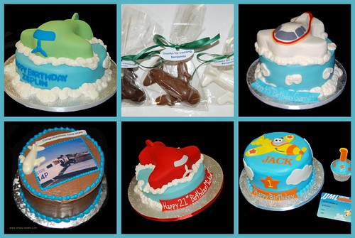 Airplane Cakes and Chocolates - Simply Sweets Designs