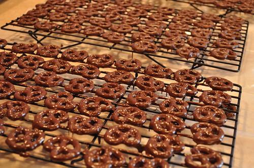 naked pretzels