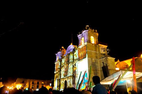 Espectáculo Multimedia Catedral Oaxaca (01)