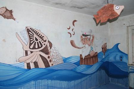 Heilstätten Grabowsee, art base 2011, Street Art 6