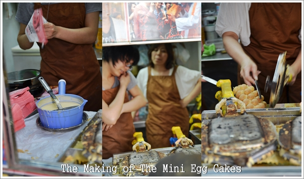 Making of Gai Dan Jaai (Mini Egg Cakes)