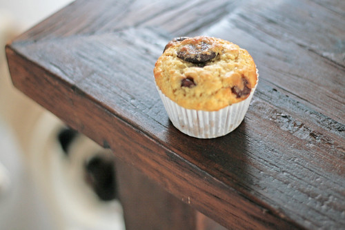 Choc chip banana muffin w/ onlooker  by 1773★