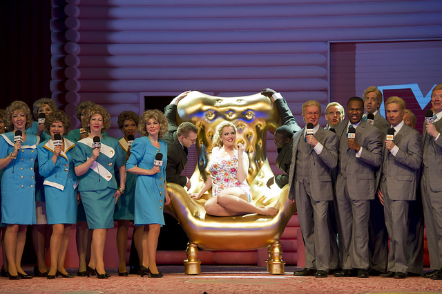 Eva-Maria Westbroek as Anna Nicole in Anna Nicole © Bill Cooper/ROH 2011