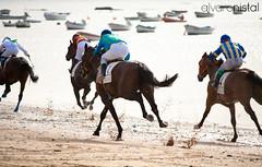 Un da en las carreras [5/7] (Alvaro Nistal) Tags: horse beach race caballo caballos spain playa racing cadiz alvaro carrera sanlucar nistal alvaretion