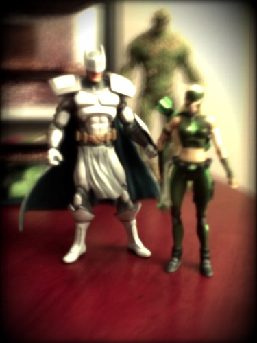 Ptw Knight and Artemis action figures