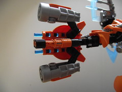 Rotor (Gun open + under) (Beardly Designs) Tags: factory lego hero custom bionicle mocs moc tfol