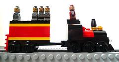 Micro Hogwarts Express (ς↑r ĴΛϒκ❂) Tags: lego harrypotter micro hogwartsexpress