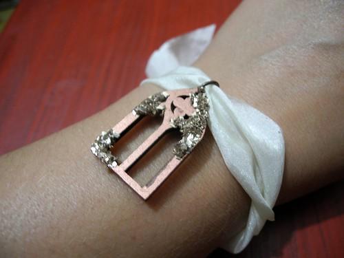 Gothic Arch Bracelet (on wrist)