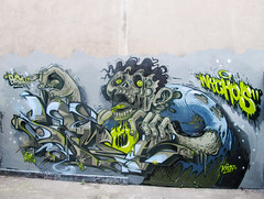 Semor Nychos (RABBIT EYE MOVEMENT) Tags: vienna street urban london art graffiti montana letters cologne kln babak cans dedicated zombies splatter lowbrow nychos semor