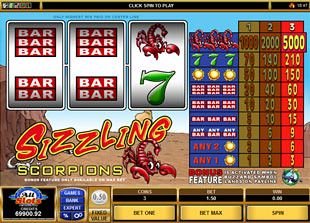 Sizzling Scorpions slot game online review