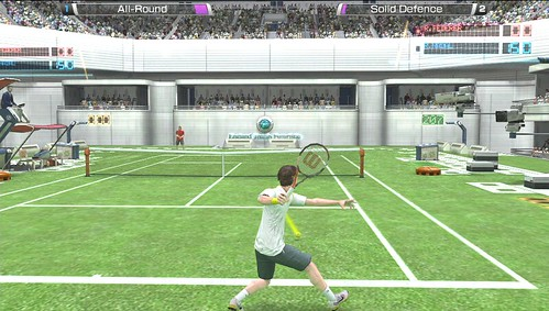 England Tennis Futuristic
