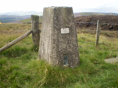 Trig Point on Clyde Law (oorwullie7) Tags: scotland hill crawford windfarm lanarkshire elvanfoot trigpoint southernuplands clydelaw