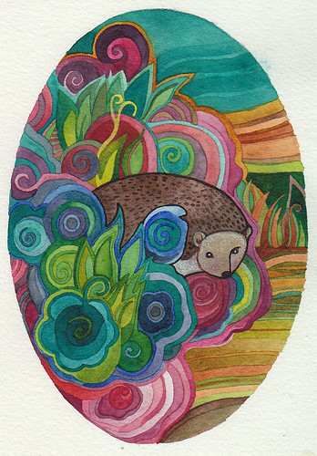Hedgehog by megan_n_smith_99
