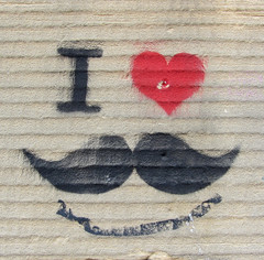 Artist? (cocabeenslinky) Tags: uk urban love liverpool canon graffiti stencil l1 power shot heart powershot moustache graff hs tash streertart i sx220 cocabeenslinky ©cocabeenslinky
