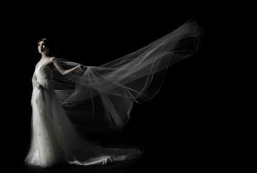 フリー写真素材, 人物, 女性, アジア女性, ウエディングドレス,