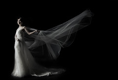 [Free Image] People, Women, Asian Women, Wedding Dress, 201108260900