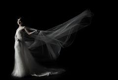 [フリー画像] 人物, 女性, アジア女性, ウエディングドレス, 201108260900