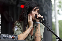 LIGHTS - Montreal, Osheaga 2011