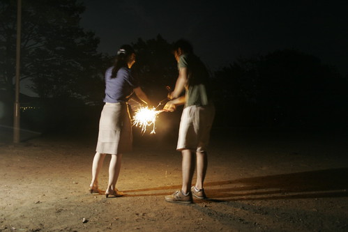 Sharing the flame