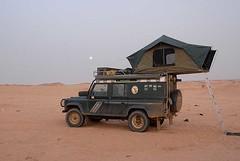 Camping at Jebel Barkal, Sudan