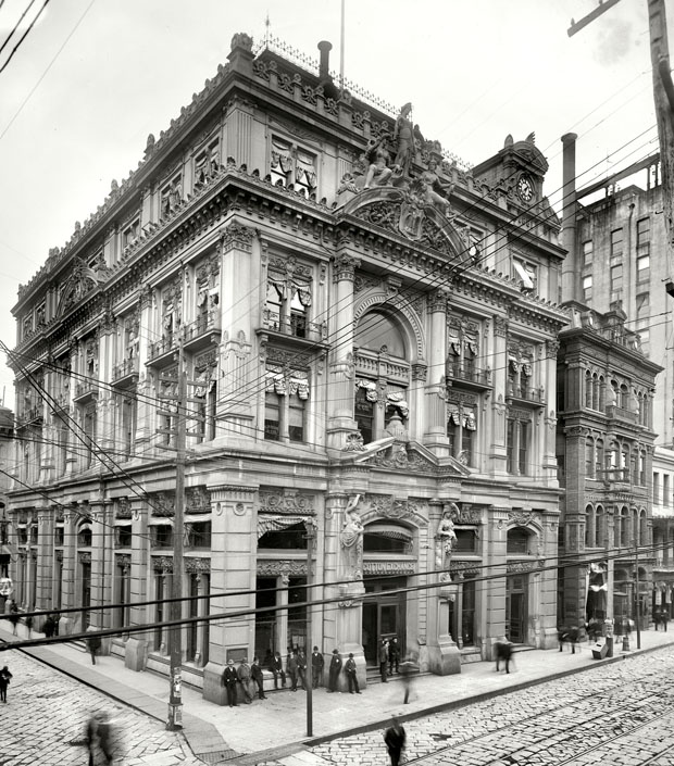 cotton exchange 1900