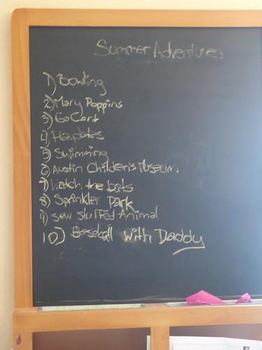 Summer adventure checklist