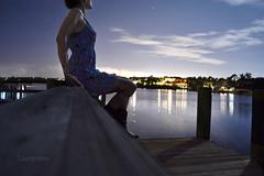 inspired (Laurarama) Tags: longexposure silhouette night gap 1855mm sept oneyear selfie odc litup nikond3100