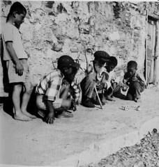 Children Playing Astragali in Turkey in the 70s