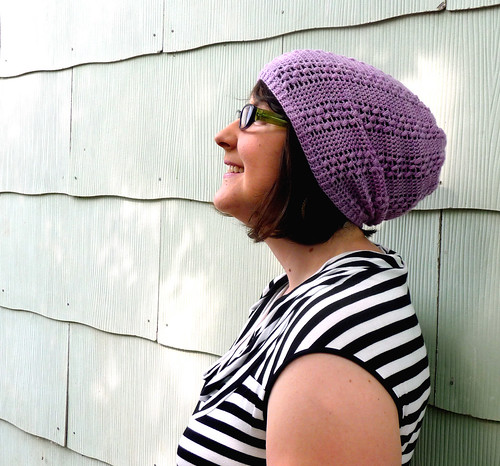 lace slouch hat