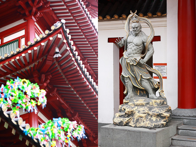 Chinatown Temple and Statue
