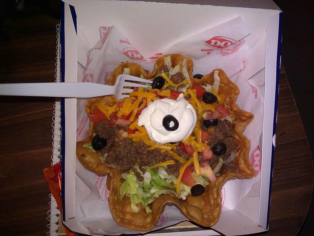 Taco Salad-Fast Food