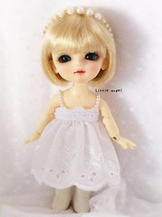 Little angel (BeautifulPinPin) Tags: wedding white outfit doll dolls lace cloth lumi latiyellow beautifulpinpin bjdcloth