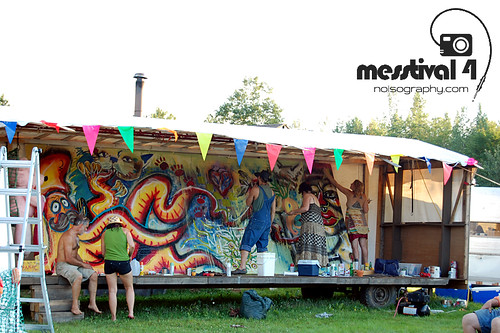 Live Painting - Messtival 4 - 2011 - 13