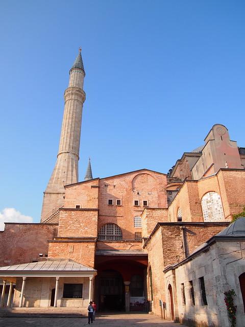 聖索菲亞教堂的出口