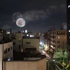 どーん! #隅田川花火大会
