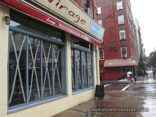 Aftermath of Hurricane Irene in NYC_Virage restaurant