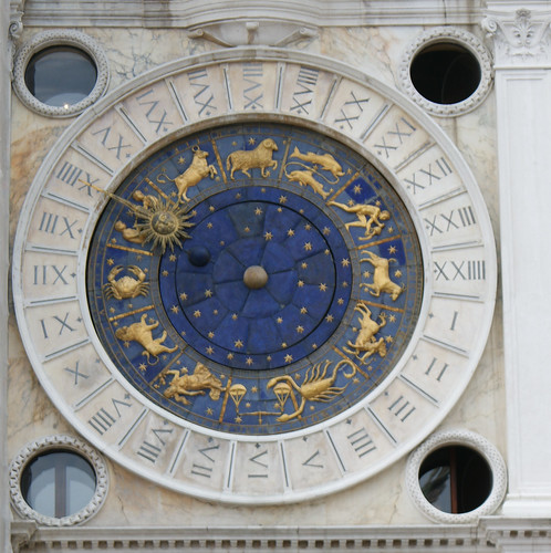Astrological Clock, Torre dell'Orologio, Venice