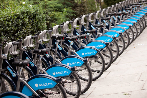673/1000 - Barclays Cycle Hire by Mark Carline