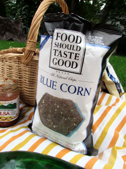 Food Should Taste Good Blue Corn Chips