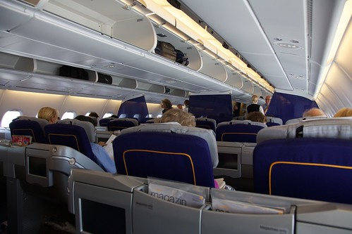 Upper Deck (Business Class) of new Airbu by string_bass_dave, on Flickr
