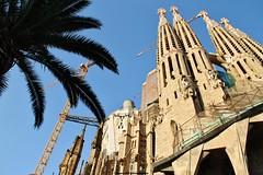 Sagrada Familia (L@Scimmia) Tags: catalonia sagradafamilia viaggi barcellona spagna 2011