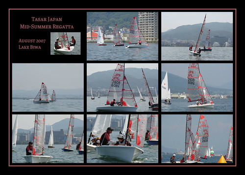 The Tasar Japan Mid-Summer Sailing Regatta ~ August 2007 ~ mosaic 1