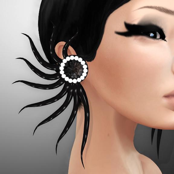 FINESMITH - NOIR  EARRINGS
