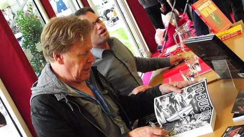 Edinburgh International Book Festival - Pat Mills & Rodge Glass 04